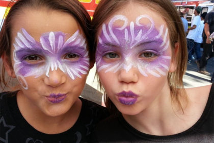 Permalink to: Girl Face Painting Designs