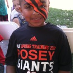 San Francisco Giants Spring Training Face Painting
