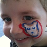 Scottsdale Chicago Cubs Face Painting Spring Training