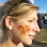 Phoenix Arizona face painting festival 14