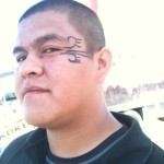 Tempe Arizona face painting Tyson eye 16