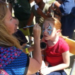 baby blue butterfly Scottsdale Face Painting