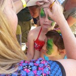 double paint Scottsdale Face Painting