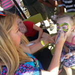 rainbow tiger Scottsdale Face Painting