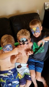 phoenix scottsdale face painting